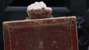 Gladstone's old Budget box