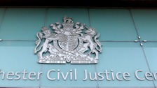 Case being heard at Manchester Civil Courts of Justice