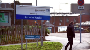 The Alexandra Hospital in Redditch