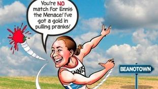 Jessica Ennis The Beano