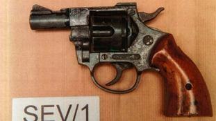 Women jailed for hiding a gun in her sofa