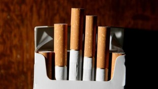 cigarettes in packet