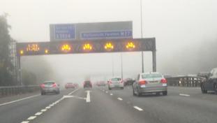 M27 in fog