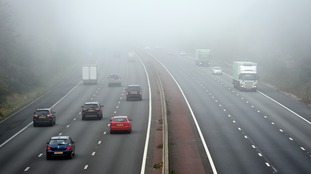 Warnings over foggy roads in the Border regio