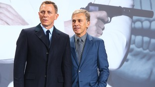 Daniel Craig and Christoph Waltz.