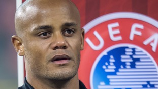 Kompany sides with Man City fans over Uefa protest