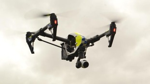 Two 'life-saving' drones join Devon and Cornwall police on 6 month trial