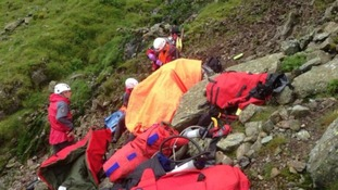 Langdale and Ambleside Mountain rescue team had a busy weekend