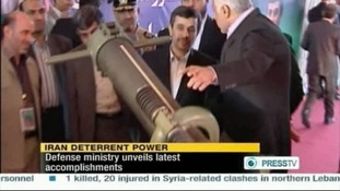 Iran President Mahmoud Ahmadinejad has said the short range missiles are meant for defence, not attack.