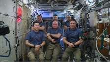 Expedition 45 of the International Space Station.