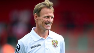 Stevenage manager Sheringham registers himself as a player...at the age of 49!