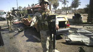 Iraqi security in Kerbala