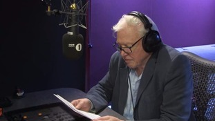 David Attenborough narrating the video