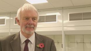 Peter Strike, Vice Chancellor, University of Cumbria