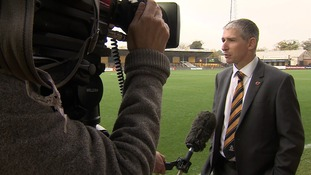 Chief Executive: 'Cambridge United squad were underperforming under Richard Money'