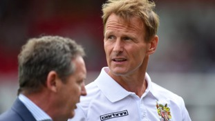 Teddy Sheringham won't now feature for Stevenage tomorrow.