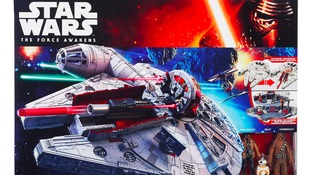 Star Wars and Thunderbirds toys are set to become 'must have' gifts.