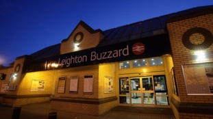 Leighton Buzzard station in Bedfordshire.