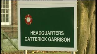 Soldier arrested at Catterick Garrison
