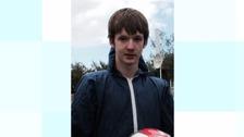 Rasmus Barlow was last seen on Monday.