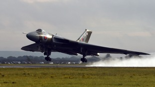 The Vulcan takes off on its final flight on October 29.