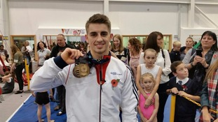 Newly crowned world champion Max Whitlock given hero's welcome on return to Essex