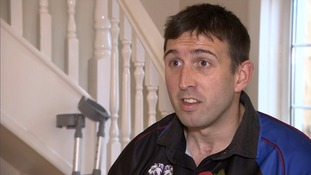 Britain's most badly injured surviving soldier can wear army uniform after getting new prosthetic legs
