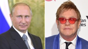 Sir Elton John 'flattered' after Putin calls him following  recent hoax by pranksters