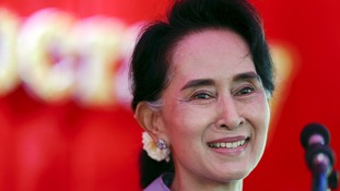 Burmese hope Aung Sang Suu Kyi can herald new era.
