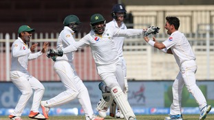 England lose third Test against Pakistan by 127 runs