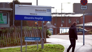 Maternity services at Alexandra Hospital in Redditch close