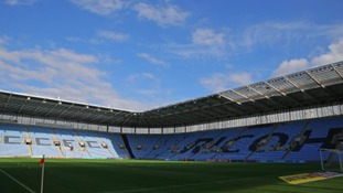 The Ricoh Arena in Coventry.