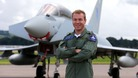 Sir Chris Hoy Typhoon jet RAF
