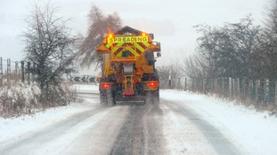Gritters urge motorists to drive safe this winter
