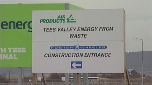 Construction of energy plant on Teesside suspended
