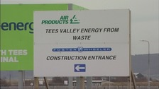 Tees Valley Energy From Waste site