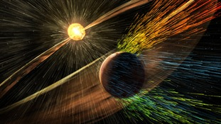 NASA: Solar winds stripped away Mars' atmosphere