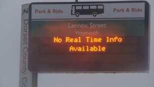 Some bus stops will now be switched off because they can't provide up-to-date information.