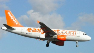 easyJet say flights have been suspended.