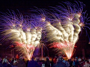 Fireworks show this weekend at Lions Club Rutland