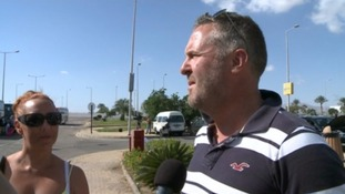 Stranded Bristol couple speak of 'pure chaos' in Sharm el-Sheikh