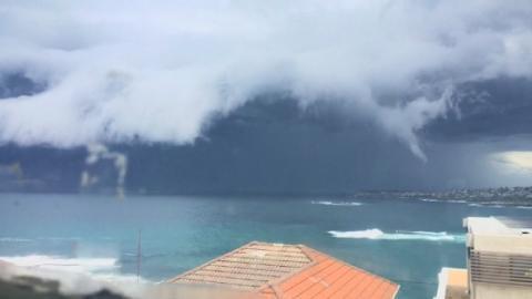Incredible Timelapse Video Shows Sydney Tsunami Cloud
