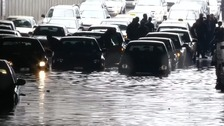 Four dead after flash flooding in Jordanian capital.