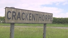 Roadworks are taking place at Crackenthorpe.
