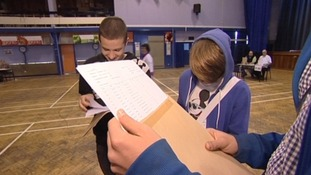 Nerve-wracking morning for students as they get ready to pick up GCSE results
