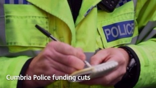 The police could face more cuts.