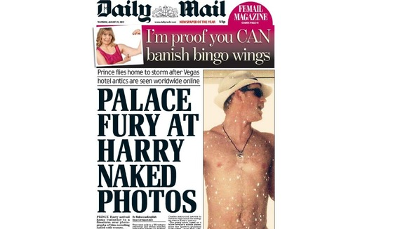 Thursday&#x27;s edition of Daily Mail newspaper