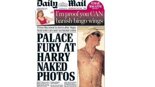 Thursday's edition of Daily Mail newspaper