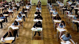 It is claimed grade boundaries for English have been substantially increased