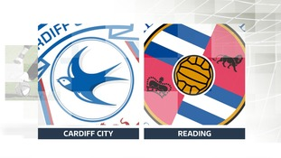 Cardiff Vs Reading Football badges
